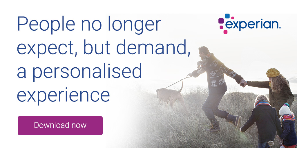 People no longer expect, but demand, a personalised experience