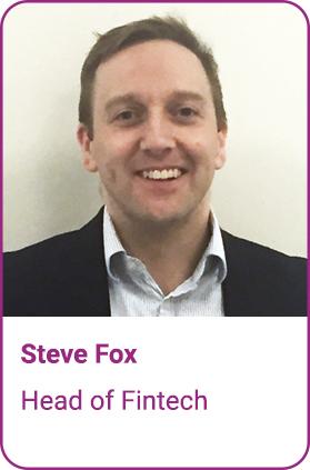 Steve Fox, Head of FinTech