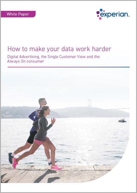 Data work harder