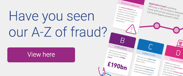 Have you seen our A-Z of fraud?