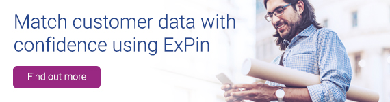 Match customer data with confidence using ExPin. Find out more.